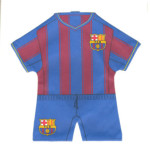Mini dres Barcelona FC pruhovaný