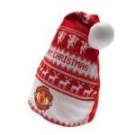 Vánoční čepice Manchester United FC (typ Nordic)
