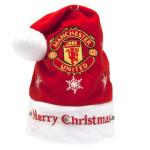 Vánoční čepice Manchester United FC blikající