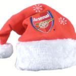 Vánoční čepice Arsenal FC