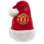 Vánoční čepice Manchester United FC