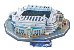 Puzzle 3D stadion Stamford Bridge