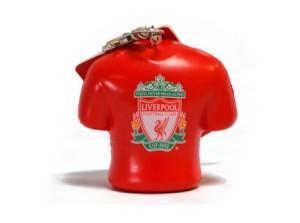 Přívěšek na klíče antistresový Liverpool FC