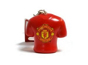 Přívěšek na klíče antistresový Mancheser United FC