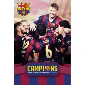 Plakát Barcelona FC Champions  (typ 115)