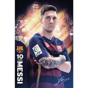 Plakát Barcelona FC Messi (typ 30)