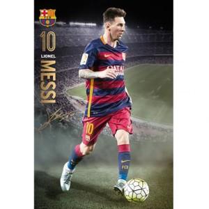 Plakát Barcelona FC Messi (typ 92)
