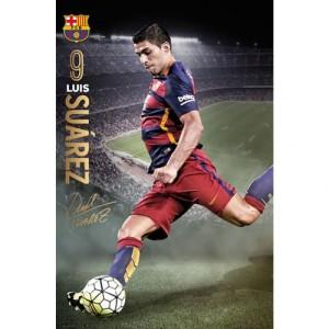 Plakát Barcelona FC Suarez (typ 96)