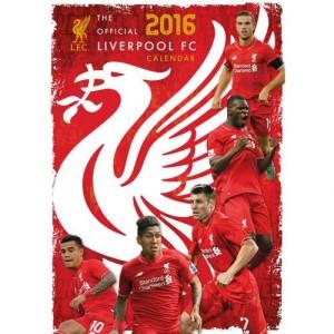 Velký kalendář 2016 Liverpool FC